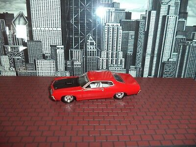 HOT WHEELS 71 FORD TORINO MUSCLE CAR SERIES LIMITE