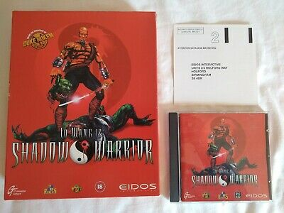 Lo Wang is Shadow Warrior Big Box PC CD ROM Game, Complete, First Release - 1997 for sale  Shipping to Nigeria