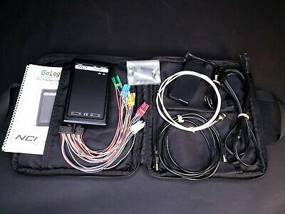 Nci Gologic 36 Channel 1msa Usb Logic Analyzer With Nanoclips Accessories - New