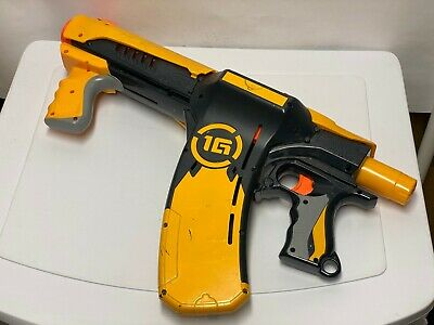NERF - 1G Dart Tag - Quick 16 Blaster - YELLOW - Gun Great Working Condition