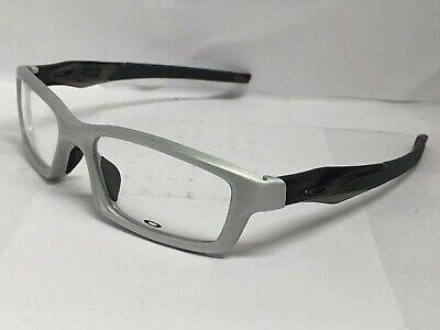 Brand New! Oakley Crosslink Pro RX prescription OX3127-0753 Aluminum (Make Sunglasses Prescription)