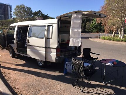 3 SEATS FULLY KITTED FORD CAMPERVAN 5M REGO NSW-BED-KITCHEN