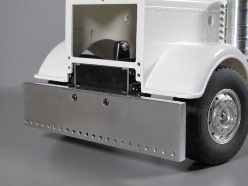 Aluminum Front Bumper 18cm w/ predrill Hole Tamiya 1/14 King Grand Knight Hauler