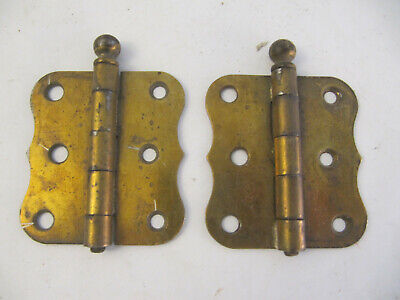 Vintage Pair of Scalloped Stanley 3