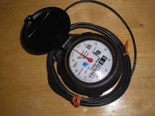 "Badger Model 25 5/8"" 3-wire RTR Register for Water Meter R25 NOS"