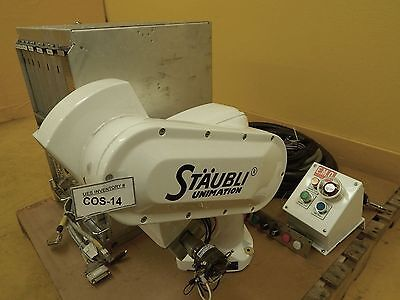 Stubli Rx60 Unimation 6-axis Robot Arm System Cr7mb Zygo Armi Used Working