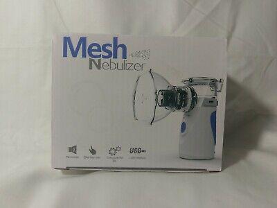 Portable Ultrasonic Nebulize Inhaler Respirator Mesh Usbbattery Rechargeable