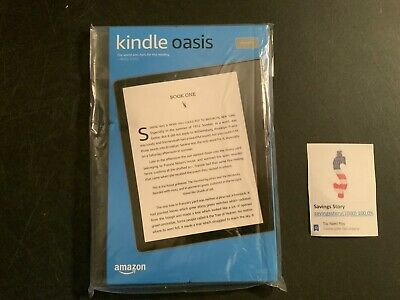Kindle Oasis 10th Gen 2019 Waterproof eReader Adjustable Warm Light 8 GB Amazon