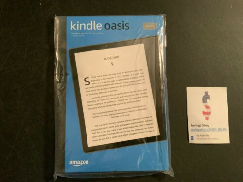 Kindle Oasis 10th Gen 2019 Waterproof eReader Adjustable War