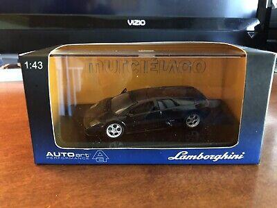 Autoart 1/43 Lamborghini Murcielago Black auto art Kyosho