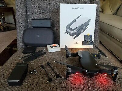 DJI Mavic Air Camera Drone with extras - Onyx Black (CPPT0000013001)