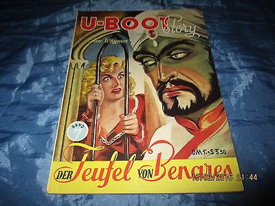 Romanheft  :  U - BOOT  Story  , Nr. 7  , ca. 1953  /  Österreich  , selten