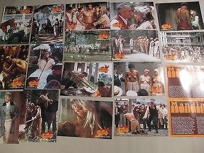 MANDINGO Aushangfotos Lobbycards JAMES MASON Susan George 1975