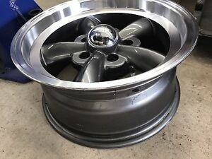 "15"" wheels 5x4.75 bolt pattern 8"" wide set of 4"