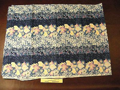 Cotton - Quilting - Northcott - Garden Glory #909 - border print - 1 yard +++ Garden Cotton Quilt Fabric Border