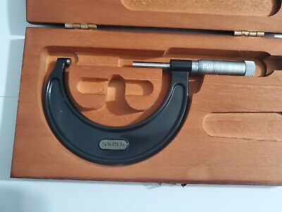 Starrett 436 Micrometer 2-3 With Wood Case