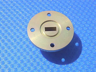Waveguide Transition Transducer Wr-42 K-band 18 24 26.5 Ghz Rectangular Circular