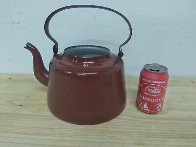 Camp Fire Kettle Aluminum Teapot w//Lid Vintage USSR Style Durable 4 L