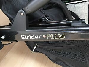 Steelcraft Strider Plus pram/ stroller with second seat Chiswick Canada Bay Area Preview