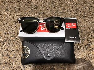 ccc2c2d747 Polarized Rayban Clubmasters Sunglasses (new)