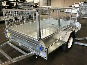 𝗦𝗔𝗟𝗘 New Galvanised 7x5 Tipper Box Trailer For Sale Coopers Plains Brisbane South West Preview