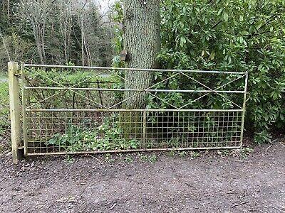 Metal driveway gate 10ft X 4ft