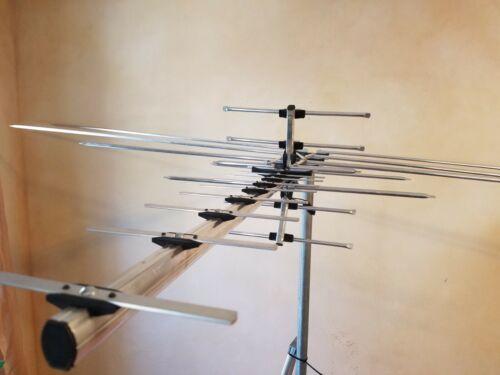 OUTPERFORMS 990 MILE TV ANTENNAS OUTDOOR DIGITAL HDTV,VHF,UHF,FM,LONG RANGE
