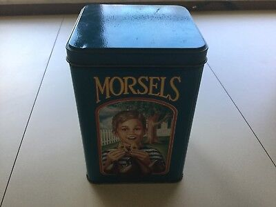 Nestle Toll House Limited Edition Tin Can - Rare Vintage / Morsels