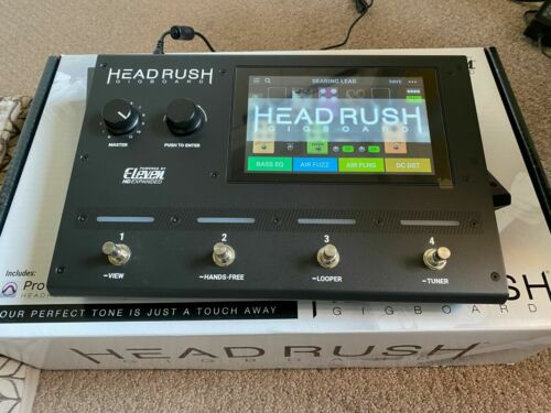HeadRush Gigboard Ultra-Portable Guitar FX and Amp Modeling Processor - HOME USE