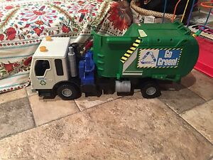 Garbage truck for sale .