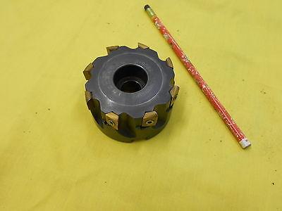 Ingersoll Usa Carbide Insert 3 Face Mill Milling Cutter Tool Holder 3j6b03r01