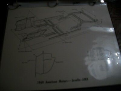 1969 Amc  Javelin  Amx  Illustration Chart American Motors