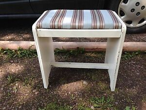 """Small Vintage Bench, 18"""" x 12"""" x 16.5"""""""