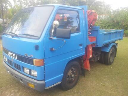 1989 Isuzu Elf Tipper Crane Truck Combo Just Reduced!!! Greenbank Logan Area Preview