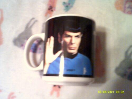 STAR TREK 12 OZ CERAMIC COFFEE MUG KIRK & SPOCK