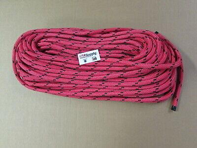 200ft X 916 Notch Kraken Monster Double Braid Rigging Rope 13300lb Arborist