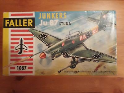 Faller 1:100 / HO   Junkers  Ju-87  Stuka   Baujahr: Mitte der 60er Jahre