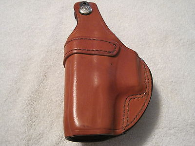 Bianchi Pistol Pocket Holster Model 3S Tan Right-Hand Glock 26/27 19184 Bianchi 3s Pistol Pocket Holster