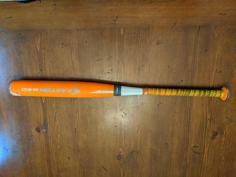EASTON ORANGE MAKO YB15MK USSSA Baseball bat 29/18. GREAT BAT! BROKEN IN!