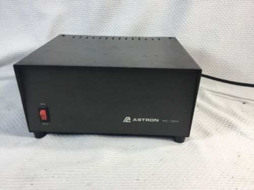 Astron RS-35A 13.8VDC 24A Continuous / 35A 50% duty cycle Tested