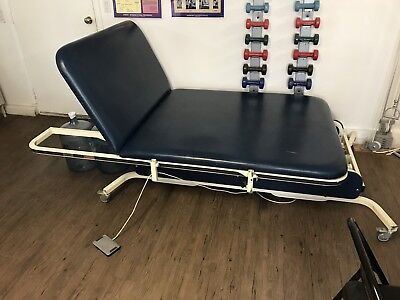 Midland 926025ib Bariatric 2 Sections Hi-low Power Treatment Therapy Exam Table