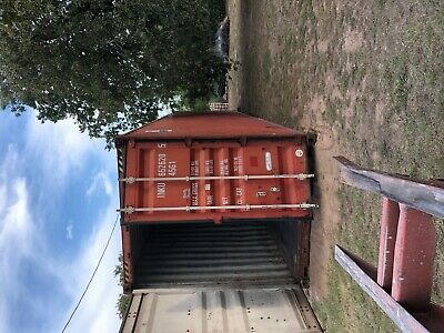 Used 40 High Cube Steel Storage Container Shipping Cargo Conex Seabox Salt Lake