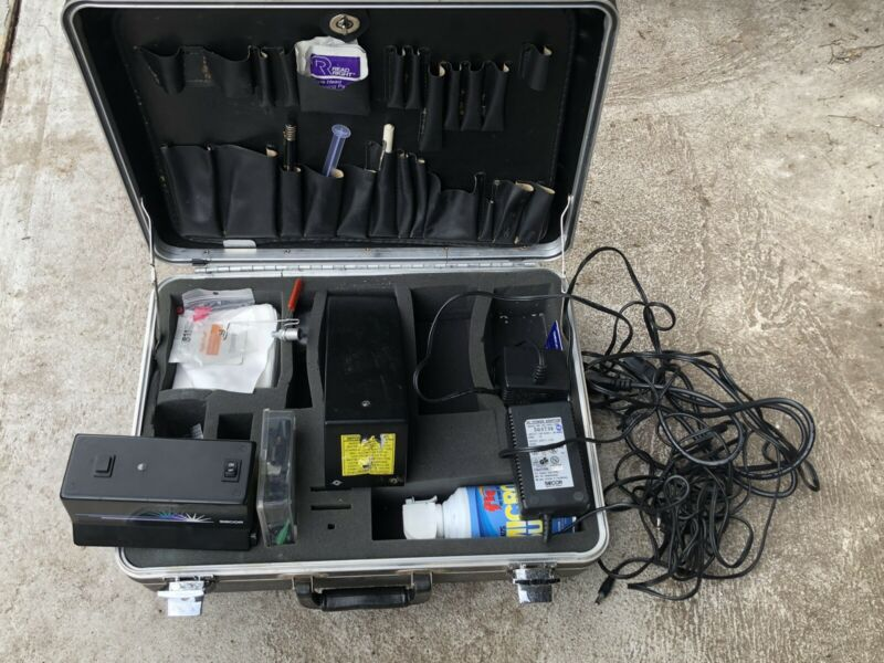 Siecor Corning Fiber Optic Tool Test Kit Set w Hard Case Accessories Install