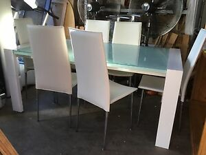 (Nick Scali) DINING Table 6x chairs St Marys Penrith Area Preview