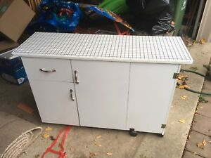 Sewing Cabinet/Cutting Table