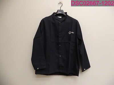 Miller Welding Jacket Flame Resistant 100 Cotton Large Navy 244751