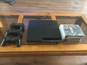 PS3, games and controllers