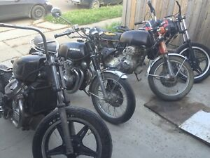 Collecting all kinds of bikes!