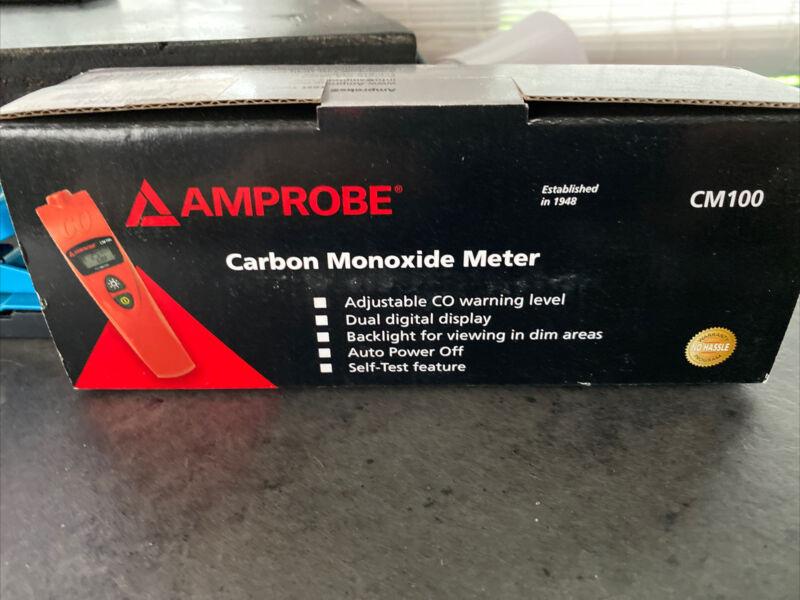 Amprobe Cm100 Carbon Monoxide Meter,Range 0 To 999 Ppm FREE Shipping!!
