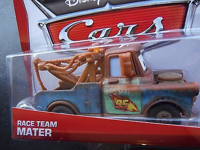 DISNEY PIXAR CARS RACE TEAM MATER MATERS 2013 SAVE 6% GMC